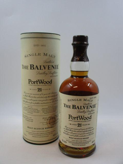 1 bouteille WHISKY THE BALVENIE 21 years Old