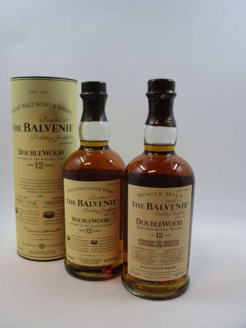 3 bouteilles WHISKY THE BALVENIE 12 years old