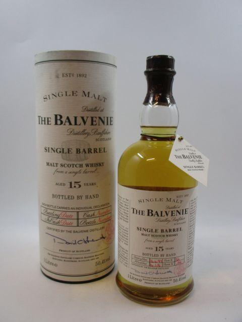 1 bouteille WHISKY THE BALVENIE 15 years old