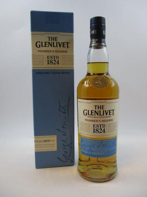 1 bouteille WHISKY THE GLENLIVET Founder's Reserve