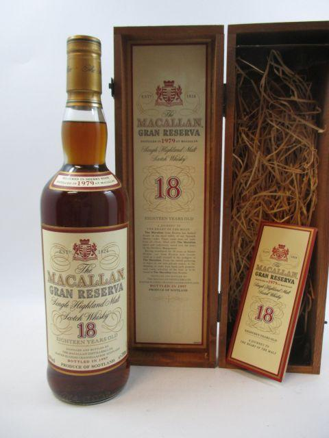 1 bouteille WHISKY THE MACALLAN 1979 18 years old