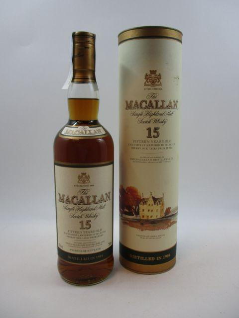 1 bouteille WHISKY THE MACALLAN 1984 15 years old