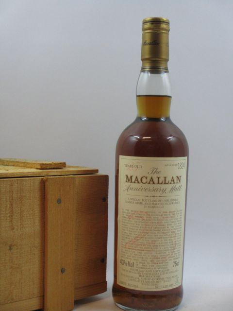 1 bouteille WHISKY THE MACALLAN 1989 25 years