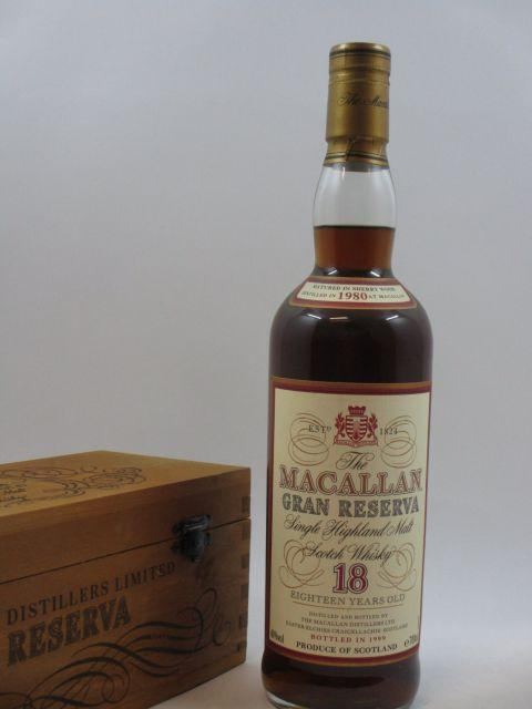 1 bouteille WHISKY THE MACALLAN 1999 18 years