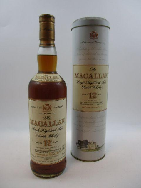 2 bouteilles WHISKY THE MACALLAN 12 years old