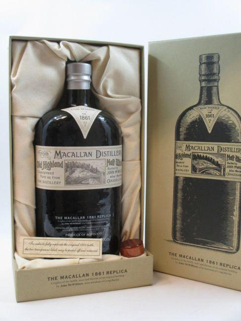 1 bouteille WHISKY THE MACALLAN 1861 Replica