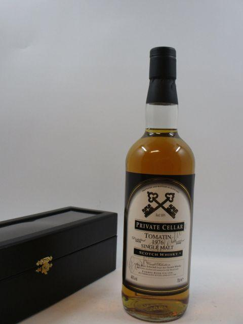 1 bouteille WHISKY TOMATIN 1976  Single Highland Malt Scotch Whisky
