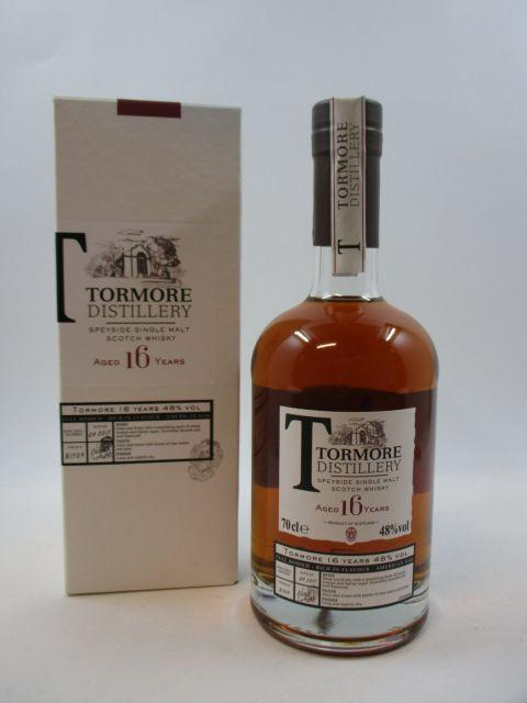 1 bouteille WHISKY TORMORE Speyside Single Malt Scotch Whisky