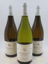 3 bouteilles 1 bt : MEURSAULT 2004 1er cru Tessons. Pierre Morey 2 bts : MEURSAULT 2006 1er cru Tessons. Pierre Morey