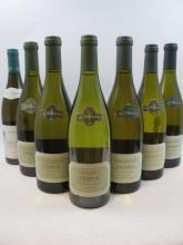 9 bouteilles  1 bt : CHABLIS 2006 1er Cru Montée de Tonerre. Chanson Père & Fils 1 bt : CHABLIS 2007 1er cru Vaulorent. La Chablis...