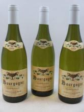 6 bouteilles BOURGOGNE 2010 Chardonnay