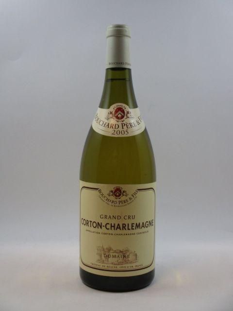 1 magnum CORTON CHARLEMAGNE 2005 Grand Cru