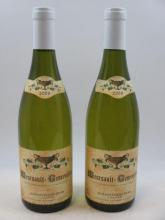 2 bouteilles MEURSAULT 2009 1er cru les Genevrières