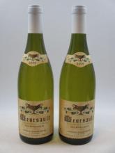 2 bouteilles MEURSAULT 2009 Les Rougeots