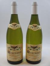 2 bouteilles MEURSAULT 2009 Les Chevalières