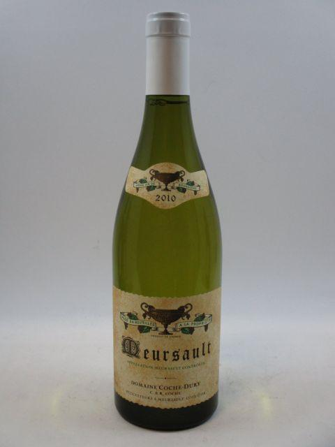 1 bouteille MEURSAULT 2010 Coche Dury (cave 10)