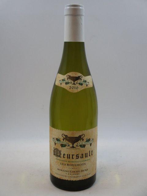 1 bouteille MEURSAULT 2010 Les Rougeots