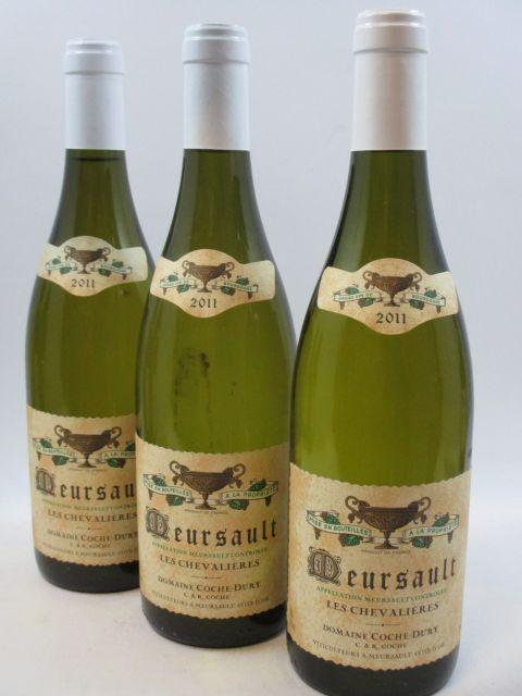 3 bouteilles MEURSAULT 2011 Les Chevalières