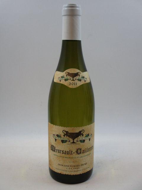 1 bouteille MEURSAULT 2011 1er cru Caillerets