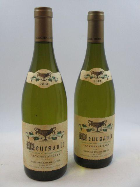 2 bouteilles MEURSAULT 2013 Les Chevalières