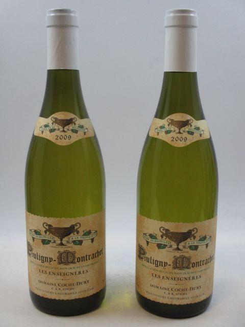 2 bouteilles PULIGNY MONTRACHET 2009 Les Enseignères