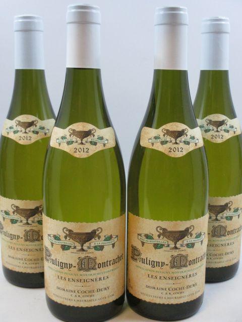 4 bouteilles PULIGNY MONTRACHET 2012 Les Enseignères