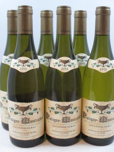 6 bouteilles PULIGNY MONTRACHET 2013 Les Enseignères