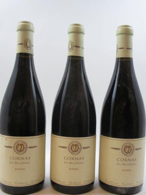 6 bouteilles CORNAS 2000 Les Barcillants