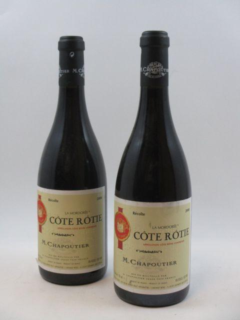 2 bouteilles COTE ROTIE 2000 La Mordorée