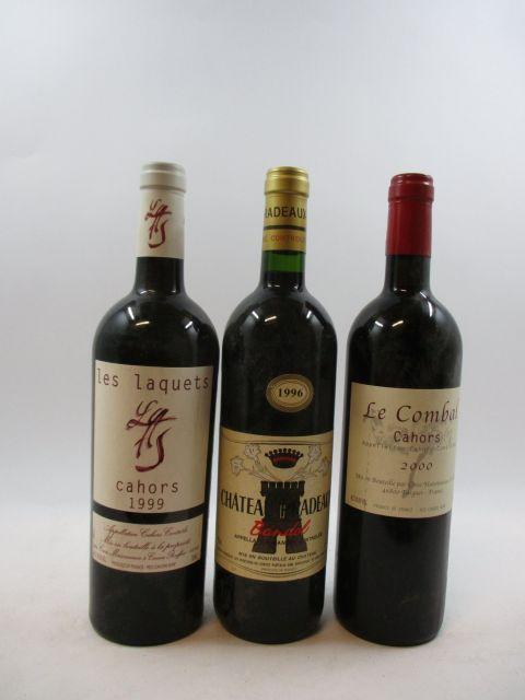 11 bouteilles 1 bt : CAHORS 2000 Le Combal. Cosse et Maisonneuve