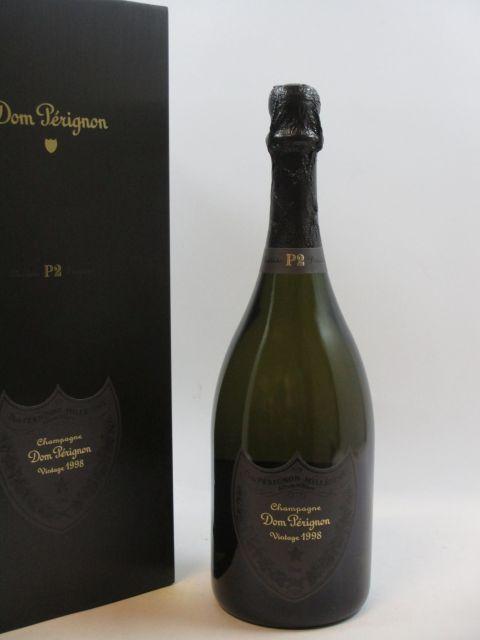 1 bouteille  CHAMPAGNE DOM PERIGNON 1998  Plénitude 2  (cave 14)