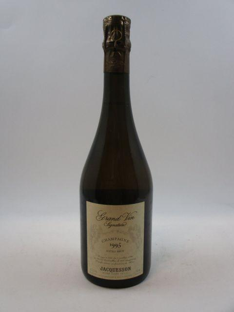 1 bouteille CHAMPAGNE JACQUESSON 1995 Signature