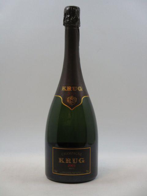 1 bouteille CHAMPAGNE KRUG 2003 Vintage (cave 14)