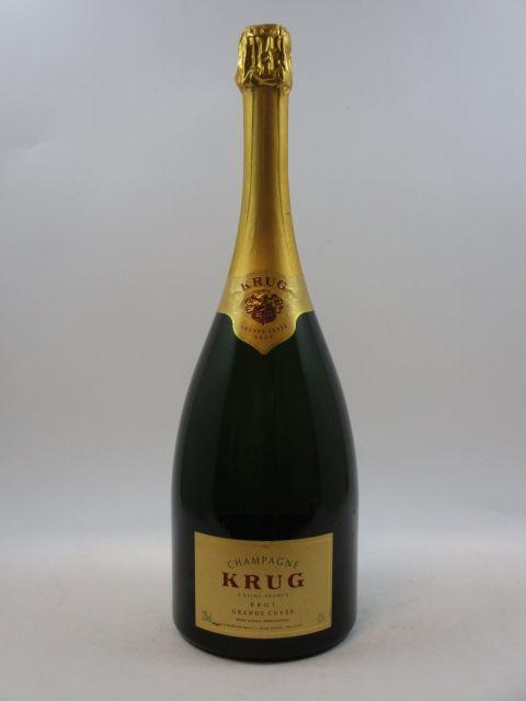 1 magnum CHAMPAGNE KRUG Grande Cuvée  (cave 12)