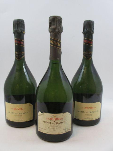 6 bouteilles CHAMPAGNE MUMM Mumm de Cramant
