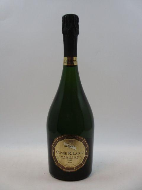 1 bouteille  CHAMPAGNE MUMM CUVEE RENE LALOU 1999 Brut   (cave 14)