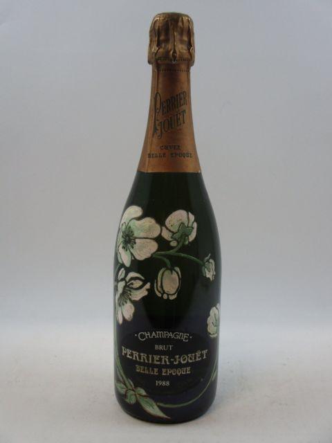 1 bouteille CHAMPAGNE PERRIER JOUET 1988 Cuvée Belle Epoque  (cave 12)
