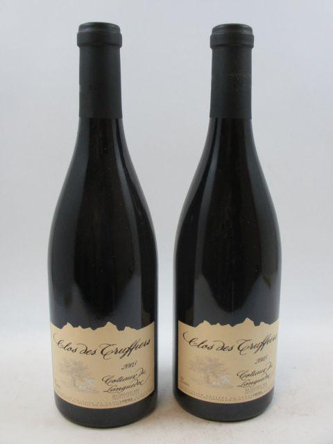6 bouteilles COTEAUX DU LANGUEDOC 2003 Clos des Truffiers