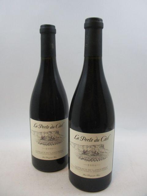 6 bouteilles COTEAUX DU LANGUEDOC 2006 La Porte du Ciel
