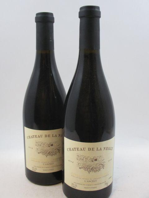 6 bouteilles COTEAUX DU LANGUEDOC 2006 L'Ancely
