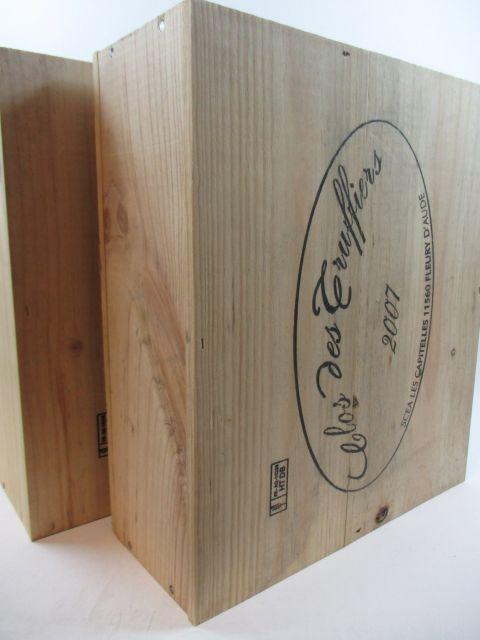 6 bouteilles COTEAUX DU LANGUEDOC 2007 Clos des Truffiers