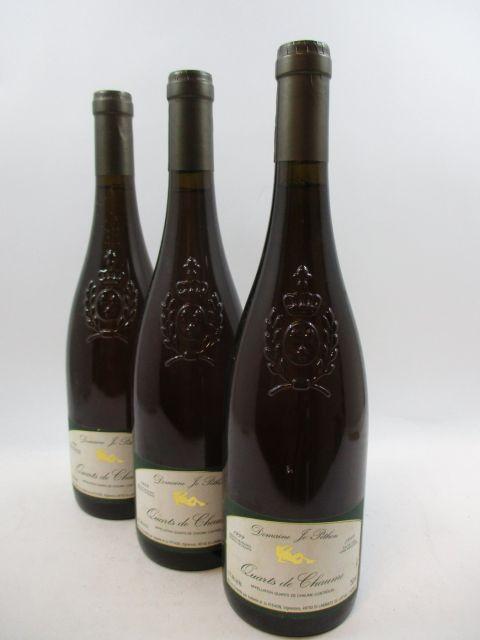 6 bouteilles QUART DE CHAUME 1999 Domaine Jo Pithon