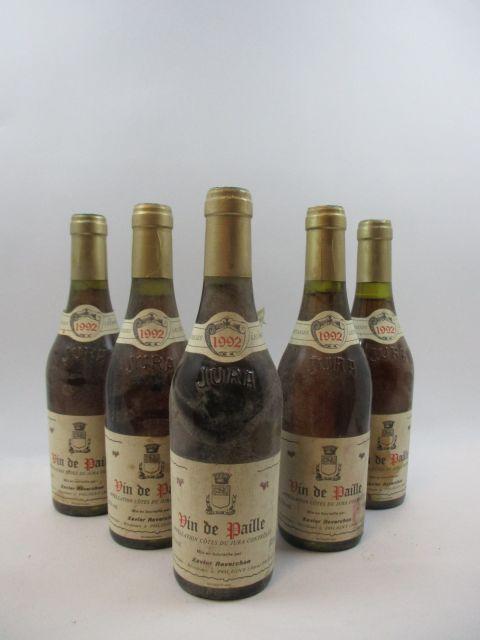 6 demi-bts VIN DE PAILLE 1992 Côtes du Jura