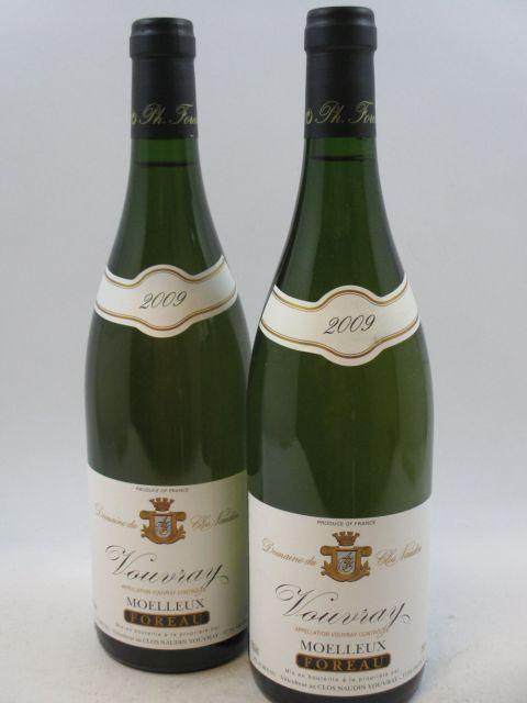 12 bouteilles VOUVRAY 2009 (moelleux) Domaine du Clos Naudin