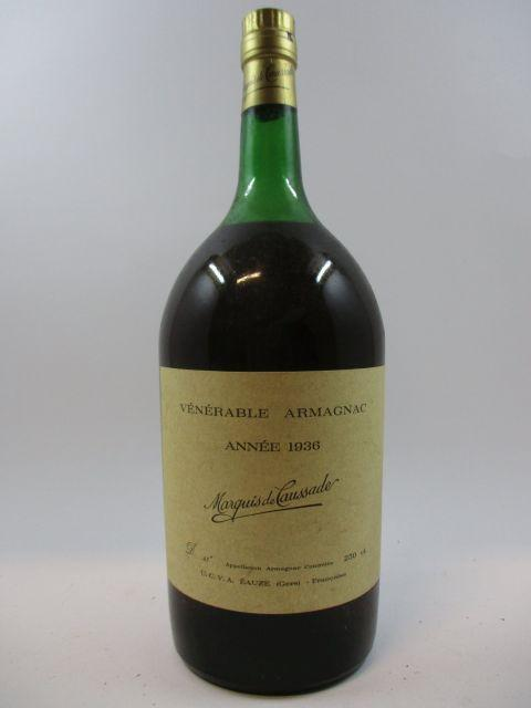 1 pot ARMAGNAC MARQUIS DE CAUSSADE 1936 (43°