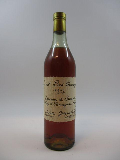 1 bouteille BAS ARMAGNAC DOMAINE DE JOUANDA 1927 Jacques de Poyferré (40,3°, 70cl