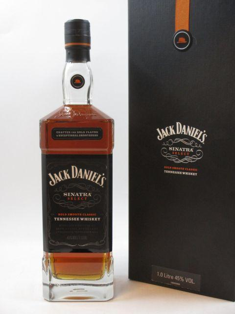 1 bouteille  WHISKY JACK DANIEL'S  Sinatra Select. Tennessy Whisky  (1 litre, 45°) (cave 14)