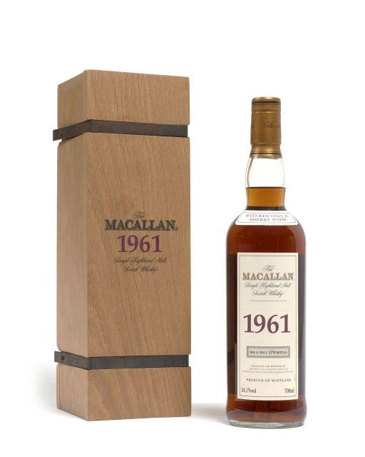 1 bouteille WHISKY THE MACALLAN 1961 One of 379 bottles
