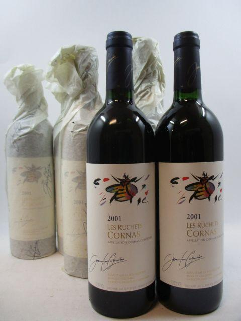 6 bouteilles CORNAS 2001 Les Ruchettes