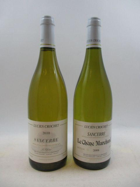 9 bouteilles 6 bts : SANCERRE 2008 Le Chêne Marchand. Lucien Crochet